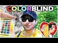 COLOR BLIND ARTIST - Trying Enchroma Glasses! mp3