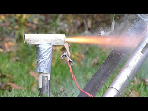 Estes Rocket Engine Static Tests
