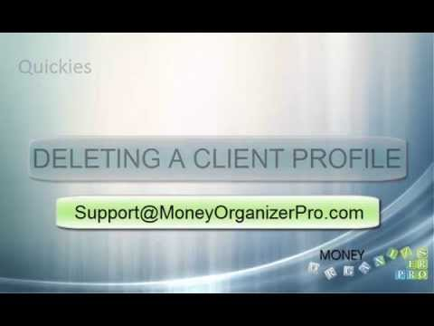 How to Delete a Client Profile