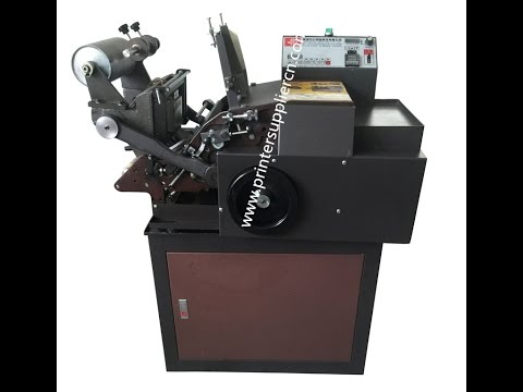 PVC Card Hot Stamping Machine, Badge Stamping Machine