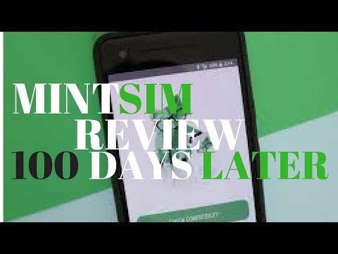 Video review: MintSim 100 days later on 2GB plan (Mint Mobile best MNVO Mint Sim mintsim.com)