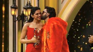 Deepika Padukone Winning Best Actor Award 2019