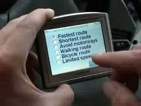 How to Use 'Tomtom One' Sat Nav