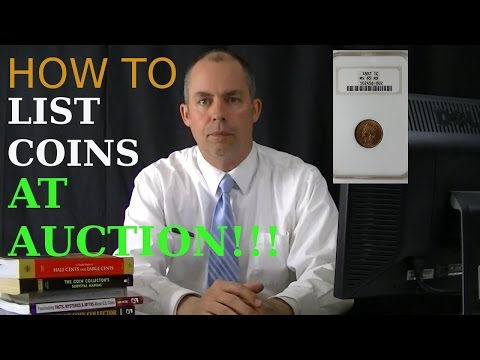 Land of Coins online coin auction: How to List Rare Coins at Auction
