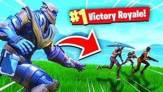 FUNNIEST THANOS MOMENTS!!! (Fortnite Battle Royale - Cizzorz Highlights #29)