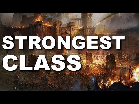 What is the Strongest Class in The Elder Scrolls Online
