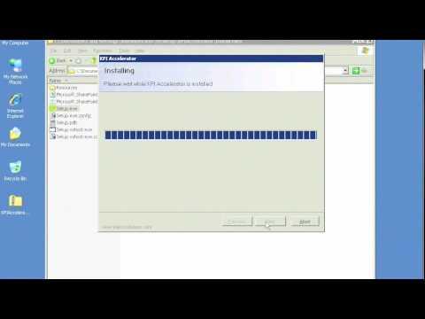 KPI Accelerator Installation Tutorial