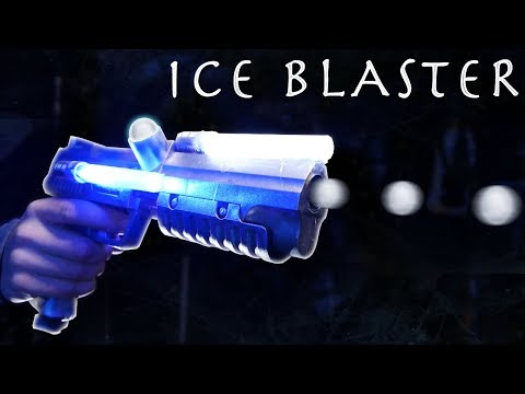 DIY ICE BLASTER! - (Ice Ammo)