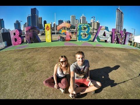 Brisbane on the bike | Australia 2016 | Travel video | GoPro