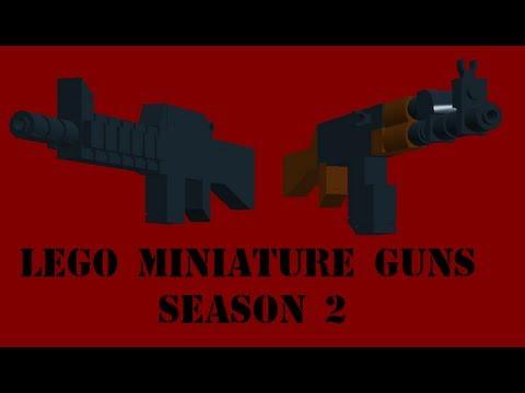 Lego Miniature Guns 2012