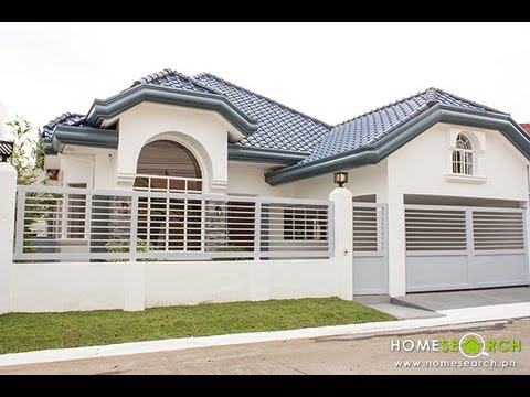 Bungalow House For Sale in BF Homes, Paranaque Philippines