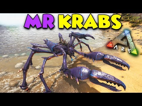 CATAPULT vs GIANT CRAB - ARK Aberration Duo Survival Series #6