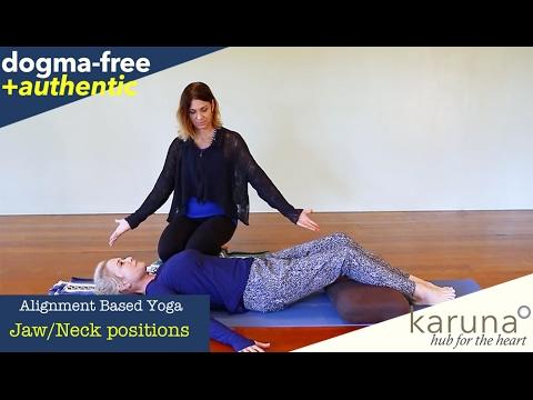 Grinding Teeth, Jaw Tension, TMJ:  Best Sleeping Position, Alignment-based Yoga