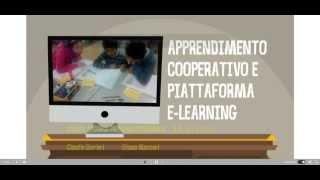 Apprendimento cooperativo e piattaforma e learning
