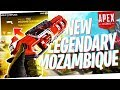 Trying The NEW Legendary Mozambique In RANKED Road To Apex Predator Ep 2