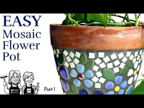 Easy Ceramic Flower Pot, part 1