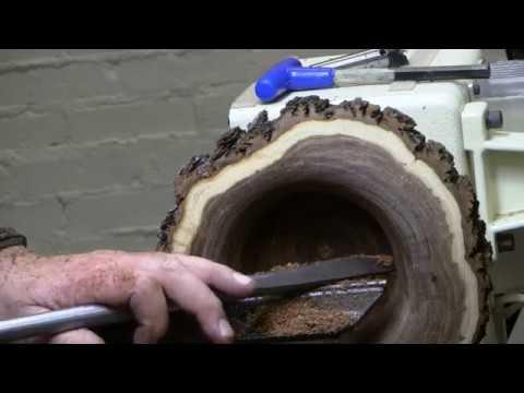 Natural edge end grain Mesquite bowls -Part 2