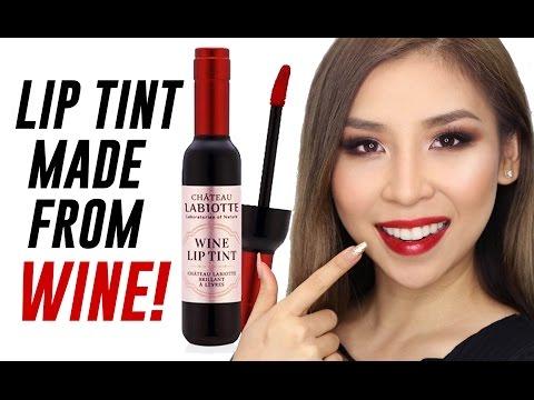 Wine Lip Tints Review | TINA TRIES IT