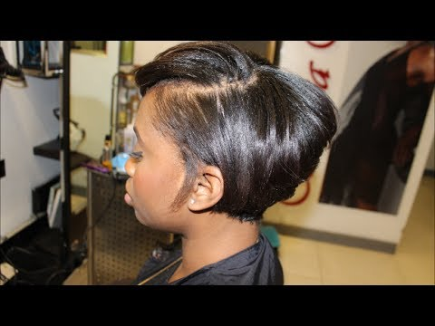 Salon Work| Growing a pixie out into a short bob on the bestie