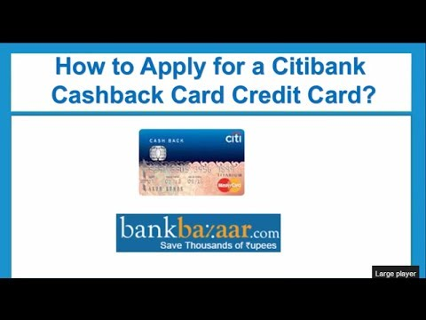 How to Apply for a Citibank Cash Back Card Credit Card