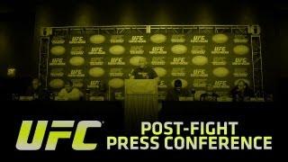 UFC on FOX Sports 1: Rua vs. Sonnen Post Press Conference