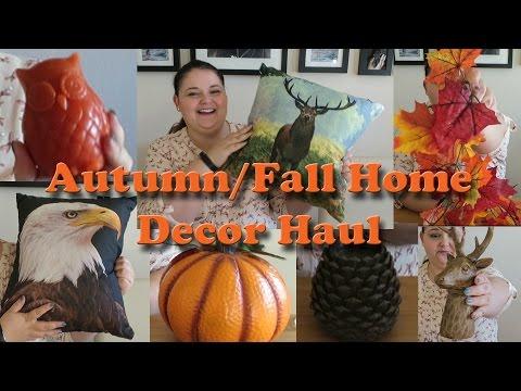 Autumn/fall home decor haul
