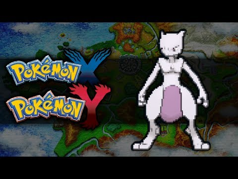 Pokemon X and Y | How To Get Mewtwo
