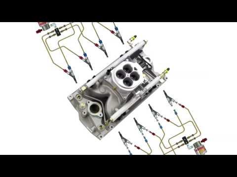 NOS Nitrous Oxide Multi Port Wet Fogger System N2O Injection