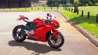 Roasting Nuts on My Dream Bike 2017 Ducati Panigale 1299