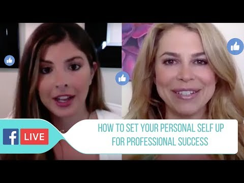 Facebook LIVE with Christine Hassler:  How To Set Your Personal Self Up For Professional Success