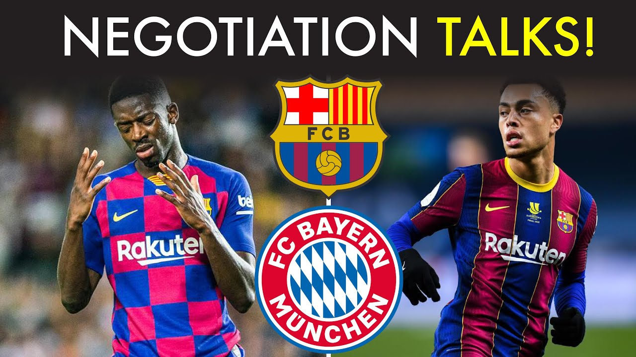 Barcelona in Negotiation Talks with Bayern Munich Over Several Players!