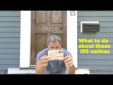What to do when you received a Certified mail slip from the IRS