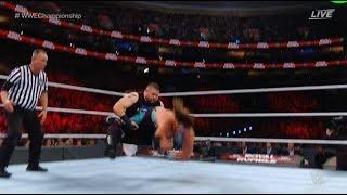 #royalrumble AJ Styles vs. Kevin Owens Sami Zayn #wwechampionship Match: Royal Rumble 2018
