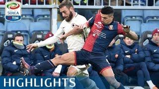 Genoa - Roma - 0-1 - Highlights - Giornata 19 - Serie A TIM 2016/17