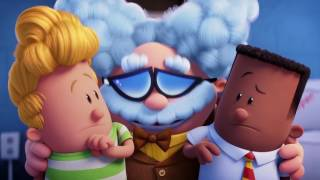 Captain Underpants SUPERCUT - all clips & trailers (2017) moviemaniacs