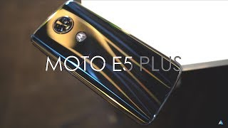Moto E5 plus review and unboxing - Is 5000 mAh battery enough? 🤔