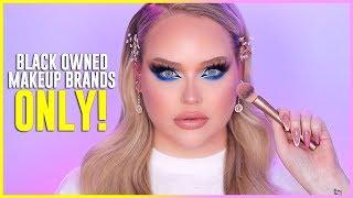 Full Face Using ONLY Black-Owned Makeup Brands | NikkieTutorials
