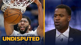 Stephen Jackson: Anthony Davis is an athletic Tim Duncan | UNDISPUTED