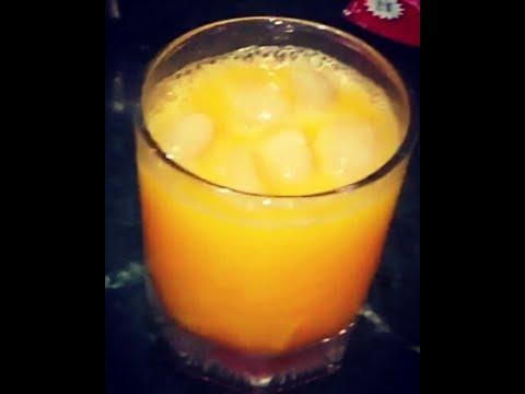 Mango strawberry crush