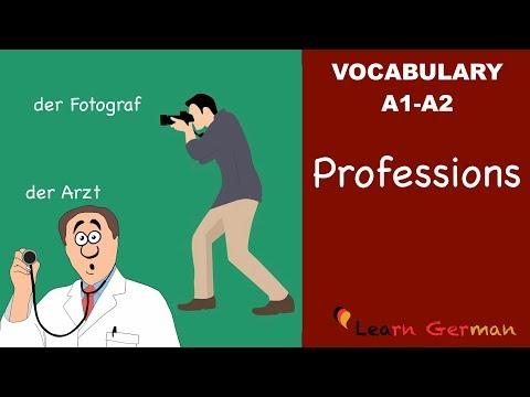 Learn German | German Vocabulary | Professions | Berufe