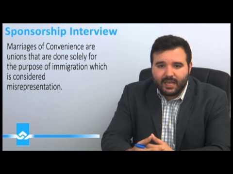 Spousal Sponsorship Interview