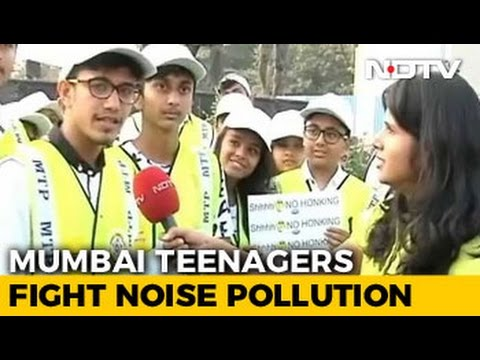 Mumbai Teenagers Show The Way To Reduce Noise Pollution