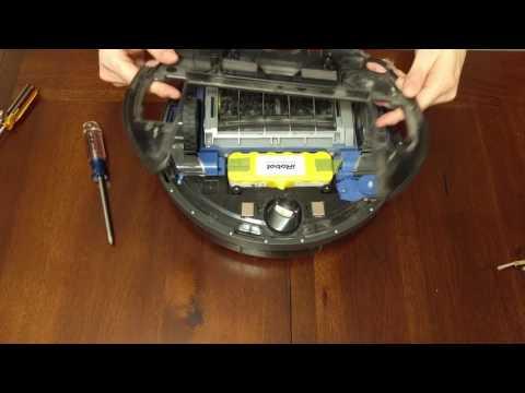 Kellys Rambling Robot Repair! Fixing Irobot Roomba not charging on dock or sensing dock 650