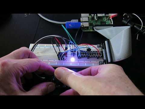Joystick Selects LED Hue and Brightness
