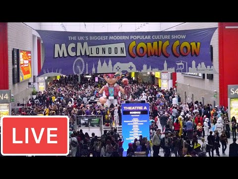 LIVE from MCM London Comic Con