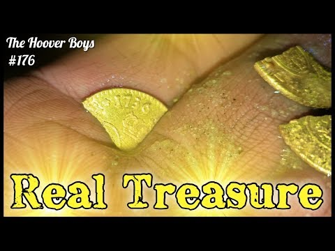 Real Treasure Found Metal Detecting Virgin Beach! Colonial Gold - Big Silver - Old Coins Galore