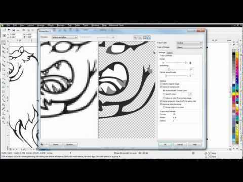 CorelDRAW X6 for beginners Power Trace