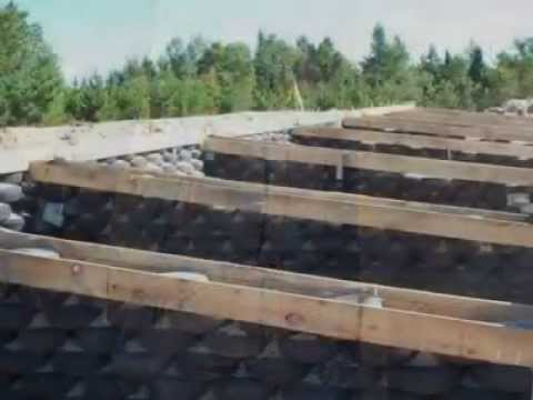 Earthship Construction - Kilaloe Ont
