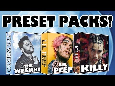 THE WEEKND x LIL PEEP x KILLY PRESET PACKS! (CONTEST)