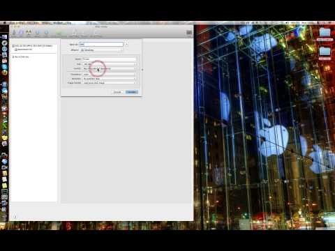 How to OSX Create a Private Folder or Hard Drive Apple Mac